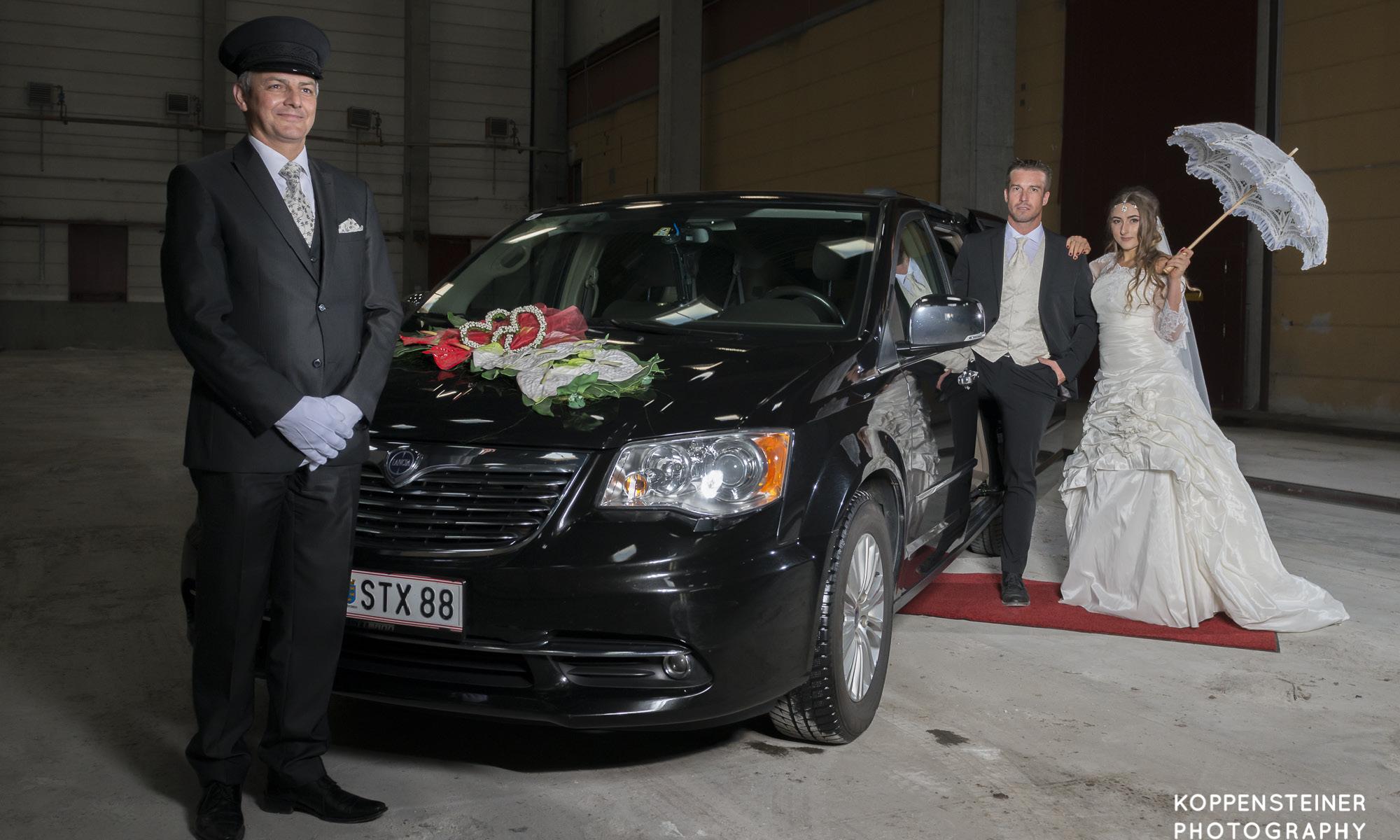 Das Hochzeitsauto/Wedding Cars Limousine