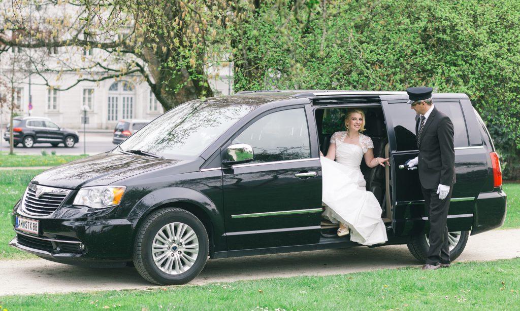 Hochzeitslimousine