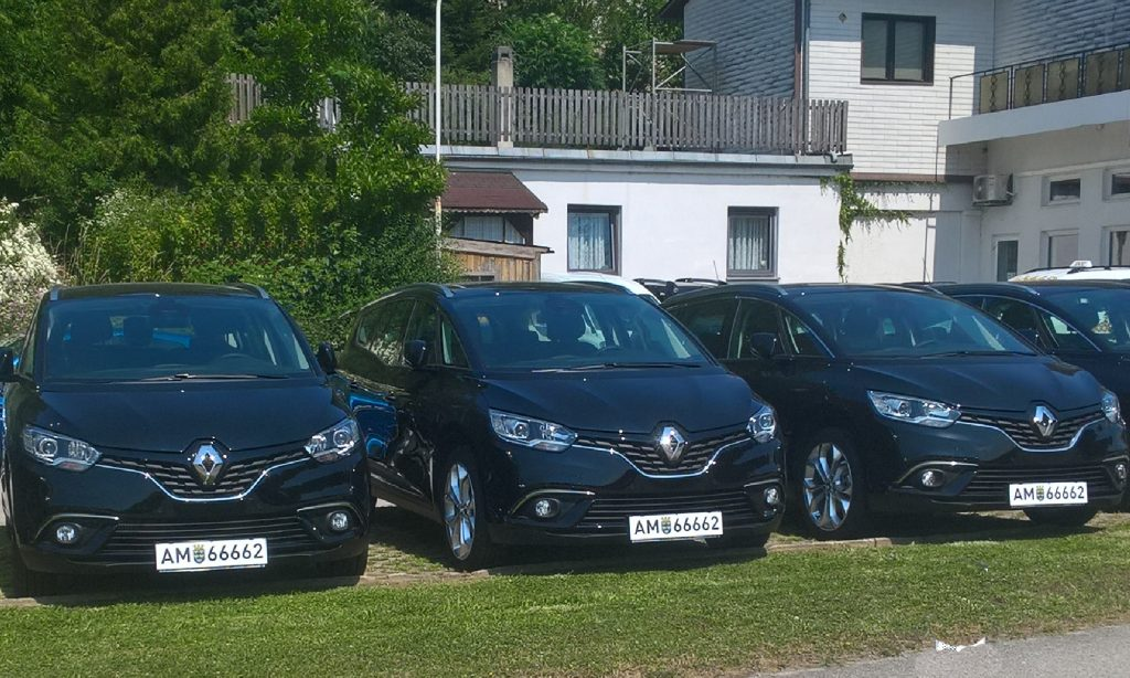 Taxi Renault Grand Scenic